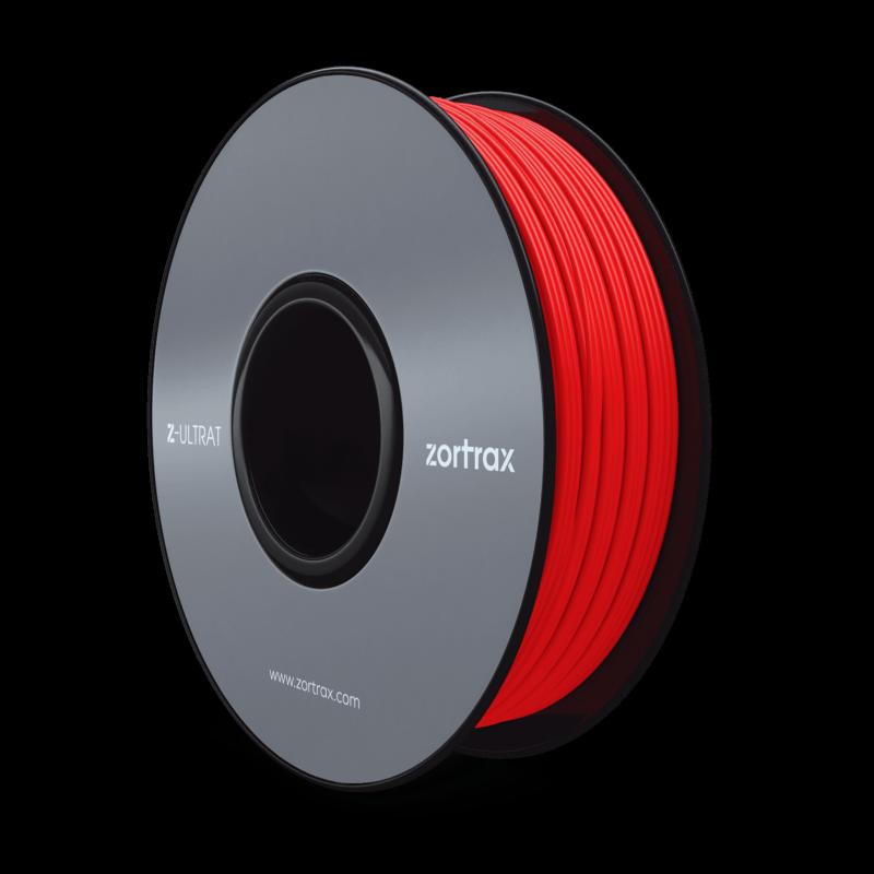 Z-ULTRAT Rouge : filament de qualité supérieure pour imprimante 3D Zortrax M200