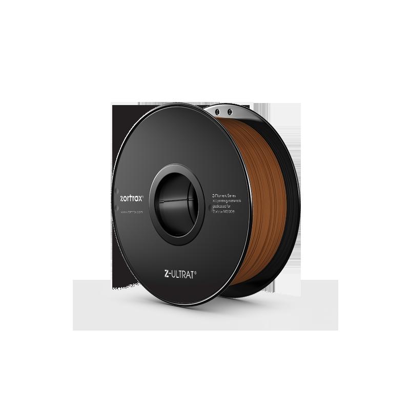 Z-ULTRAT Marron : filament de qualité supérieure pour imprimante 3D Zortrax M200