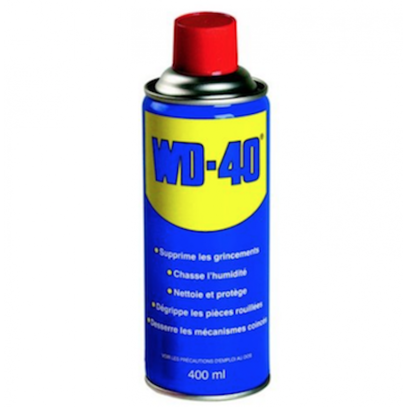 Lubrifiant WD40 : Stop aux frottements, lubrifiez vos axes