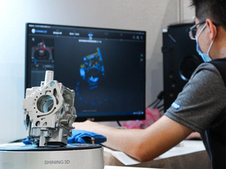 Formation initiation scanner 3D
