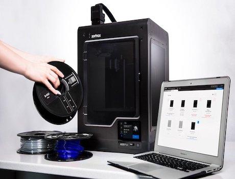 La Zortrax M200 plus et son logiciel Z-SUITE