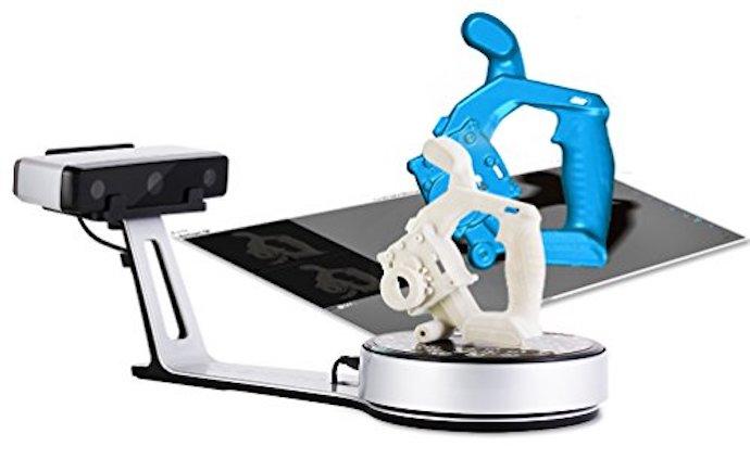 Fonctionnement du scanner 3D